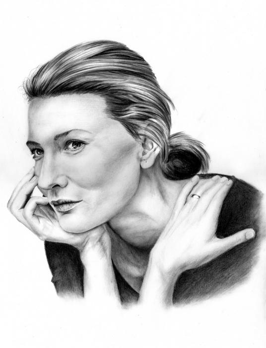 Cate Blanchett by Hillcza